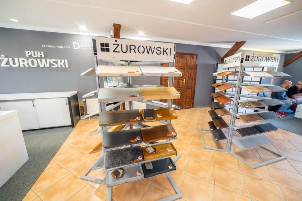 Salon okien idrzwi - Koszalin - ekspozycja parapetów
