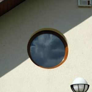 Realizacje - okrągłe okno