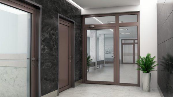 Drzwi przeciwpozarowe